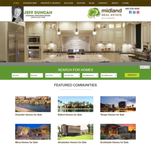 Real Estate Website Design Work